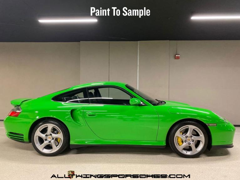 2005 Porsche 911 Turbo S Coupe Paint to Sample