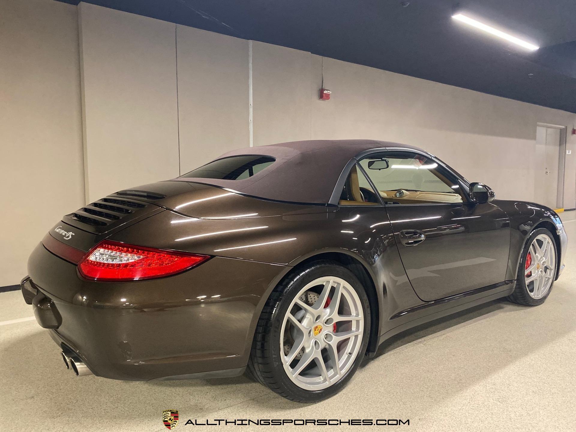 Used-2009-Porsche-911-Carrera-4S-Cabriolet-Manual-Trans